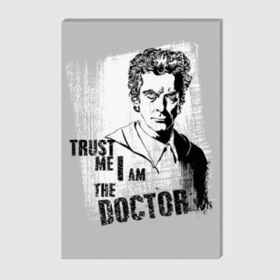 Холст Доктор Кто 12
