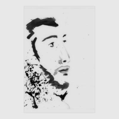Постер Грузинский профиль