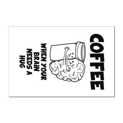 Наклейка (стикер) Кофе