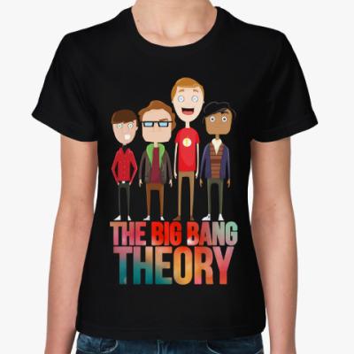 Женская футболка The Big Bang Theory