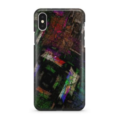Чехол для iPhone X Абстракт