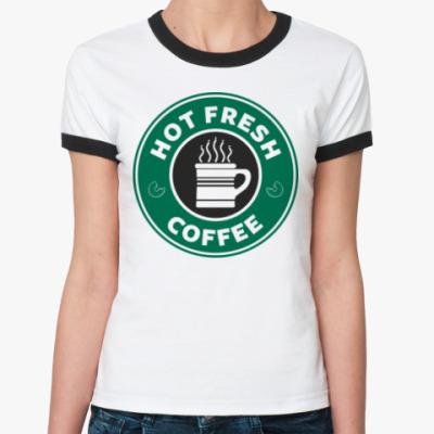 Женская футболка Ringer-T HOT FRESH [NCIS]