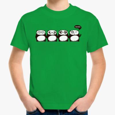 Детская футболка Kiss Panda