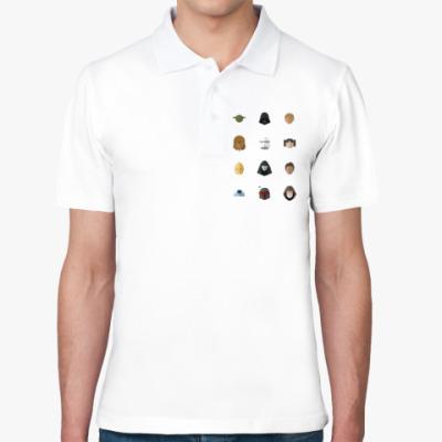 Рубашка поло Персонажи Звездных Войн