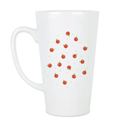 Чашка Латте Яблочки
