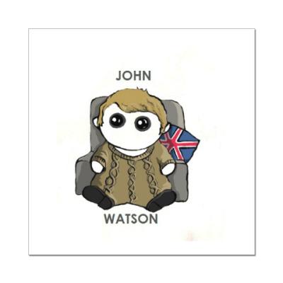 Наклейка (стикер) Sherlock ( John Watson )