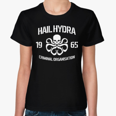 Женская футболка Hydra