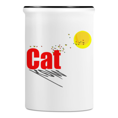 Подставка для ручек и карандашей Перелётные коты