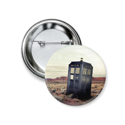 TARDIS In The Desert