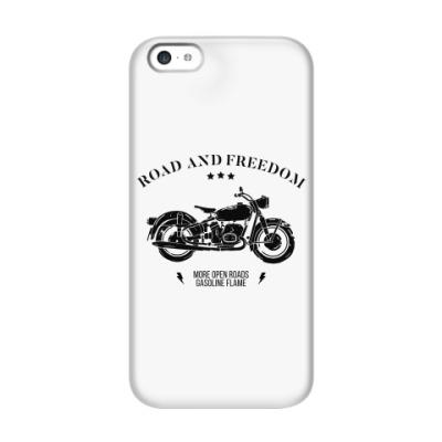 Чехол для iPhone 5c Король дорог (мотоцикл)