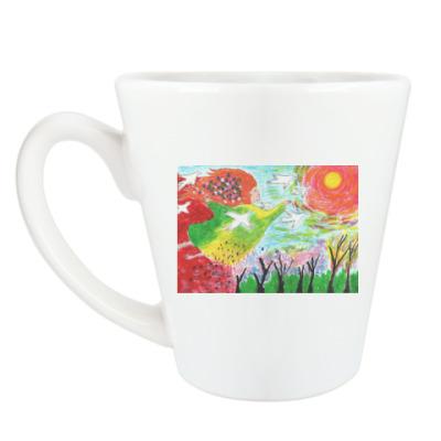 Чашка Латте 'Весне дорогу'
