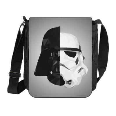 Сумка на плечо (мини-планшет) Star Wars: Вейдер и Штурмовик