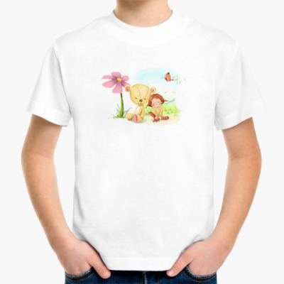 Детская футболка мир детства