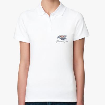 Женская рубашка поло Женская рубашка поло, белая
