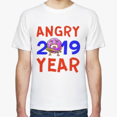 Футболка ANGRY YEAR 2019