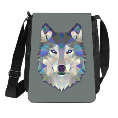 Сумка-планшет Волк