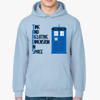 Толстовка худи TARDIS Doctor Who