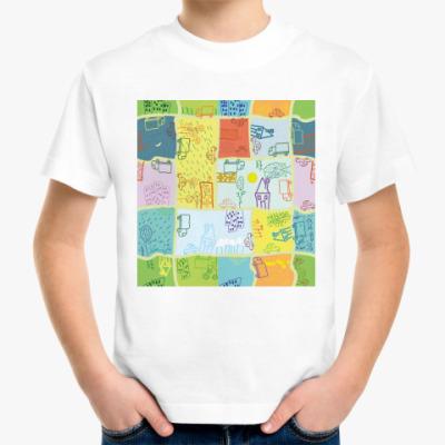 Детская футболка 'Город'