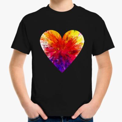 Детская футболка Сердечко