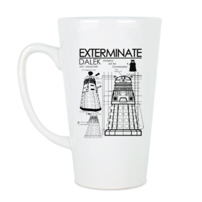 Чашка Латте Dalek plan