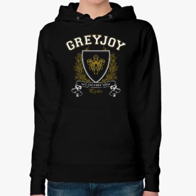 Женская толстовка худи House Greyjoy