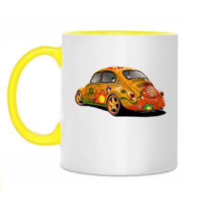 Кружка Автомобиль для хиппи