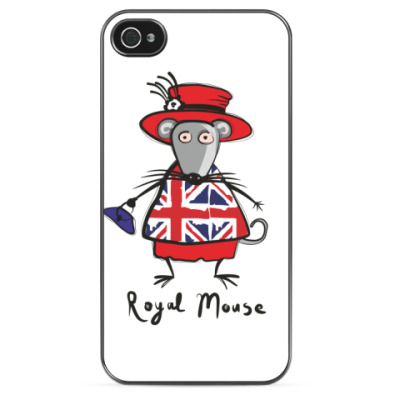 Чехол для iPhone 'Британская мышь'