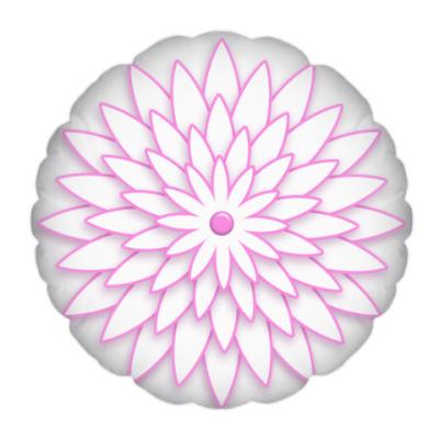 Подушка Геометрическая роза