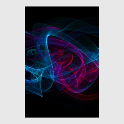 Постер абстрактный арт дизайн