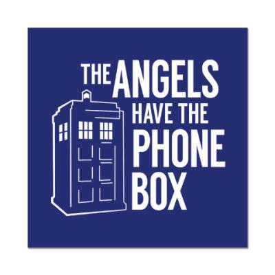 Наклейка (стикер) The Angels Have The Phone Box
