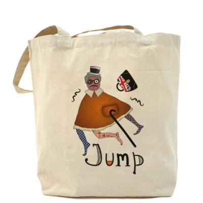 """Сумка Холщовая сумка """"Прыжок"""""""