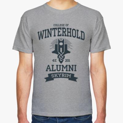 Футболка Skyrim College of Winterhold