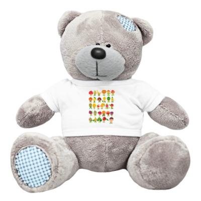 Плюшевый мишка Тедди Фрукты, Овощи и Ягоды