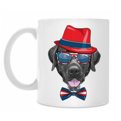 Кружка Hipster Dog
