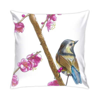 Подушка Серия: птицы