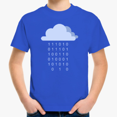 Детская футболка Цифровой дождь