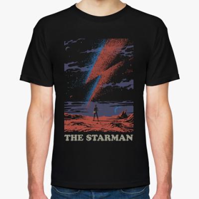 Футболка David Bowie Starman Дэвид Боуи