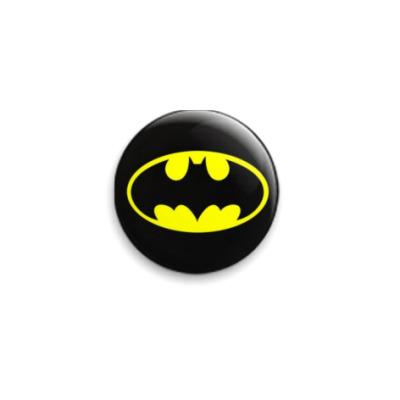 Значок 25мм  25 мм bat_logo