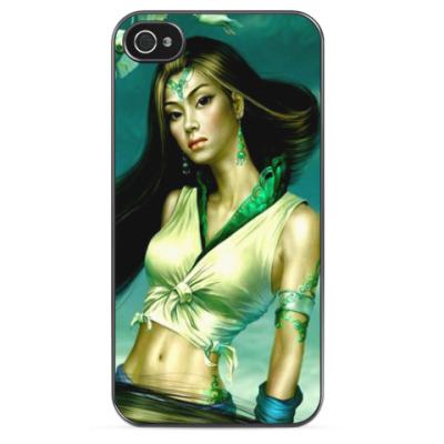 Чехол для iPhone Восточная девушка