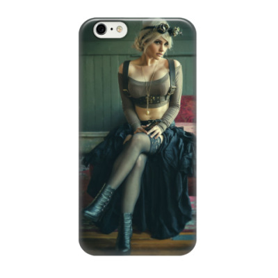 Чехол для iPhone 6/6s Hot Steampunk Girl