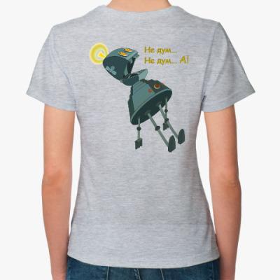 Женская футболка Планета Шелезяка