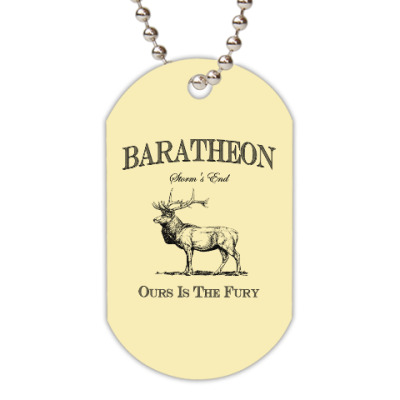 Жетон dog-tag Baratheon