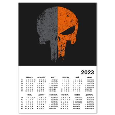 Календарь Punisher