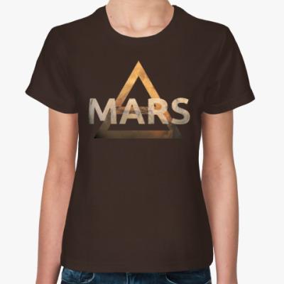 Женская футболка Mars Triad