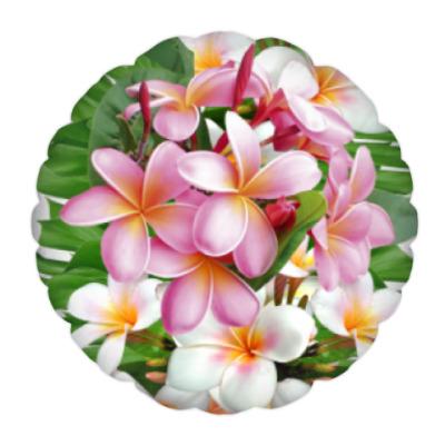 Подушка Тропические цветы