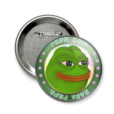 Значок 58мм Pepe Frog
