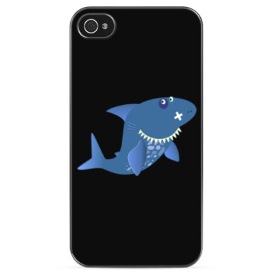 Чехол для iPhone Акула-Каракула