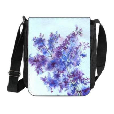 Сумка на плечо (мини-планшет) Полевые цветы