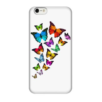Чехол для iPhone 6/6s Бабочки