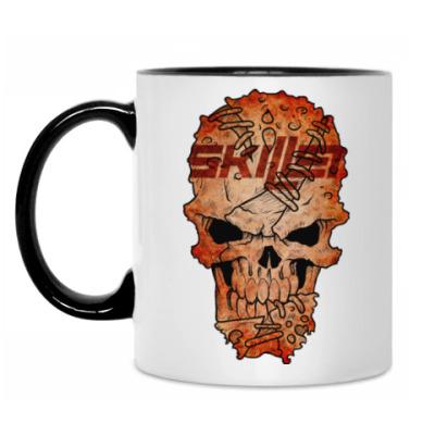 Кружка Skillet Skull